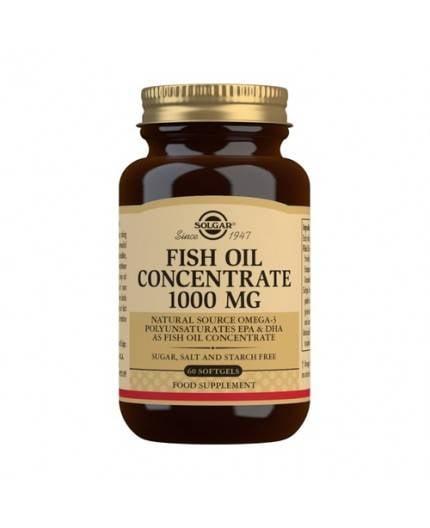 Aceite de Pescado Concentrado 1.000 mg.