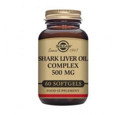 Aceite Hígado de Tiburón Complex 500 mg.