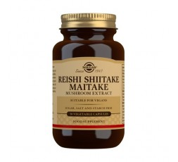 Reishi, Shiitake y Maitake (Extracto de Hongos)