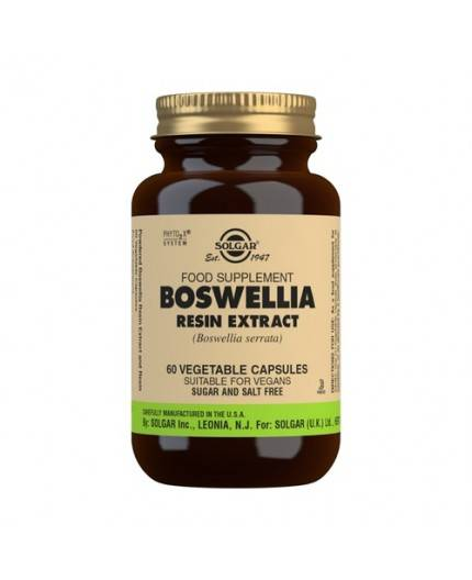 Boswellia Extracto de resina (Boswellia serrata)