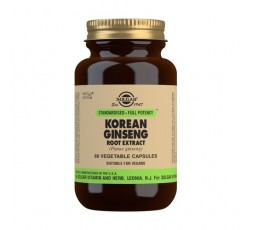 Ginseng Coreano Extracto de Raíz (Panax ginseng)