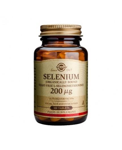Selenio en levadura 200 µg (levadura primaria con alto contenido en selenio)