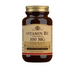 Vitamina B1 (Tiamina) 100 mg.
