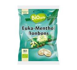 Biodeta Caramelos rellenos eucalipto y mentol