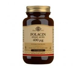 Folacín. Ácido Fólico 400 µg - 250 Comprimidos