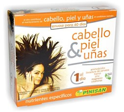 Cabello, Piel & Uñas