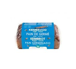 Pan de Centeno Germinado Natural