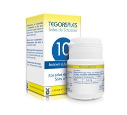 Tegorsales nº 10 Natrium sulphuricum